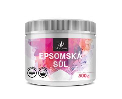 Allnature Epsomská sůl 500 g Allnature