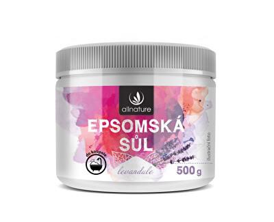 Epsomská sůl Levandule 500 g