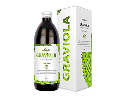 Nef de Santé Graviola - 100% pasterizované pyré z plodov gravioly 500 ml