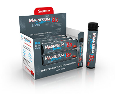 SALUTEM Pharma Magnézium Chelate 375 mg + B6 10 x 25 ml