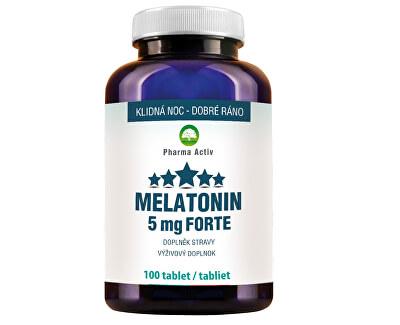 Melatonín 5 mg Forte 100 tabliet