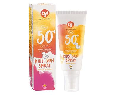 Ey! Eco Cosmetics Opaľovací krém v spreji pre deti SPF 50+ BIO 100 ml