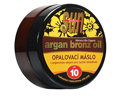 Opaľovacie maslo Argan bronz oil OF 10 200 ml