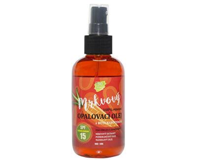 Přírodní opalovací mrkvový olej OF 15 150 ml