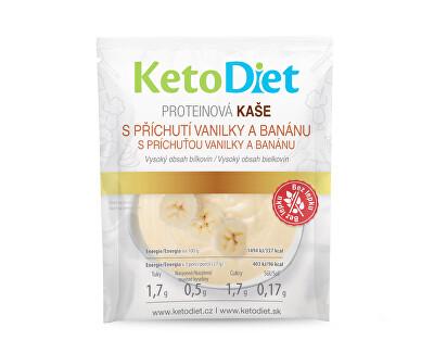 Proteinová kaše s příchutí vanilky a banánu 7 x 27 g