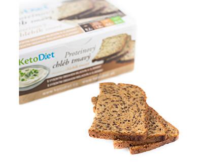 Proteinový chléb tmavý (7 porcí)