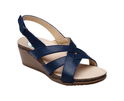 Zdravotní obuv dámská EKS/152-26 NAVY modrá