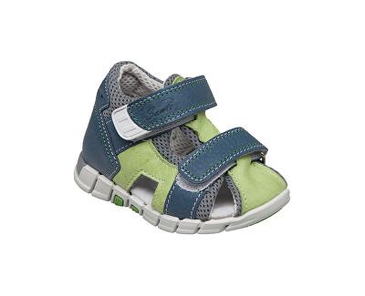 Zdravotná obuv detská N / 810/401 / S89 / S90 zelená