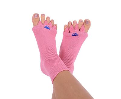 pro nožky Adjustačné ponožky PINK