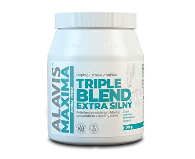 Alavis ALAVIS MAXIMA Triple Blend Extra Silný 700 g sa sladidlom z rastliny stévia