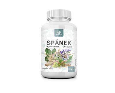 Allnature Spánok bylinný extrakt 60 pastiliek