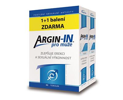 Argin-IN pro muže 45 tobolek + Argin-IN 45 tobolek zdarma