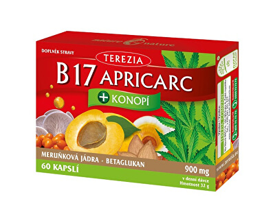 B17 APRICARC + Konopí 60 pastilek