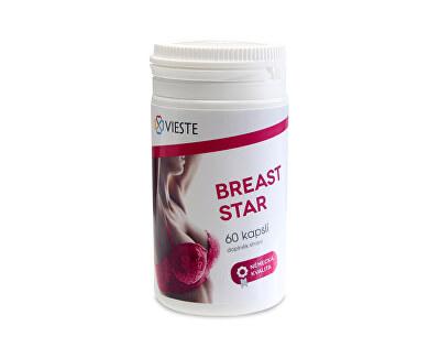 Vieste Breast Star 60 kapslí