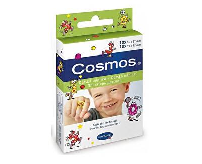 Cosmos dětská náplast 2 velikosti 20 kusů