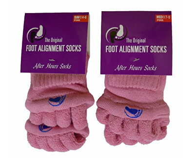 Adjustačné ponožky PINK
