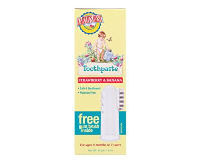 E.B. Zubní pasta pro děti od 6 měsíců se zubním kartáčkem 45 g