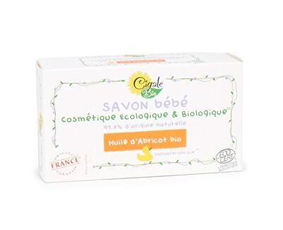 Hypoalergenní mýdlo Baby s BIO meruňkovým olejem 100 g