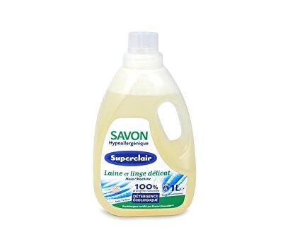 Hypoalergenní tekuté mýdlo na praní vlny a jemného prádla 1 l