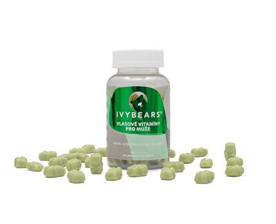 IVY Bears IVY Bears vlasové vitamíny pro muže 60 kusů