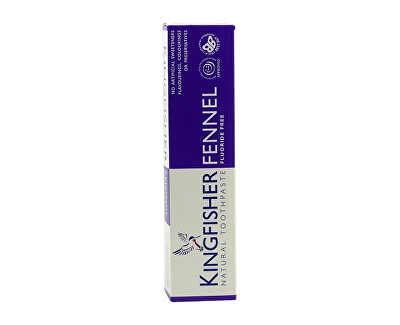 Kingfisher zubná pasta - Aloe, Tea tree a fenikel 100 ml