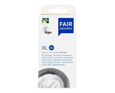FAIR SQUARED Kondom XL 60 - 8 ks<br /><strong>Kondom XL</strong>