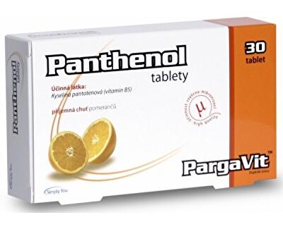 PargaVit Panthenol 30 tablet