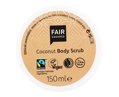 FAIR SQUARED Peeling tělový kokosové vločky 150 g<br /><strong>Peeling tělový</strong>