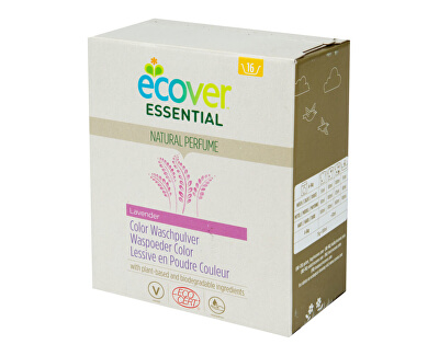 Ecover Prací prášok na farebnú bielizeň 1,2 kg<br /><strong>Prací prášek na barevné prádlo</strong>