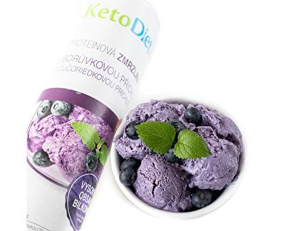 Proteinová zmrzlina s borůvkovou příchutí (20 porcí)