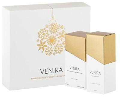 VENIRA dárkový set - 40 denní kúra 80 kapslí a švestkový olej 50 ml