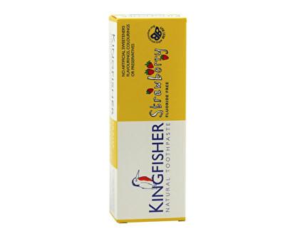 Zubní pasta Kingfisher dětská - Jahoda 75 ml