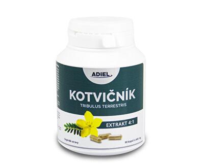 Adiel Adiel Kotvičník zemný tribulus terrestris 90 piluliek