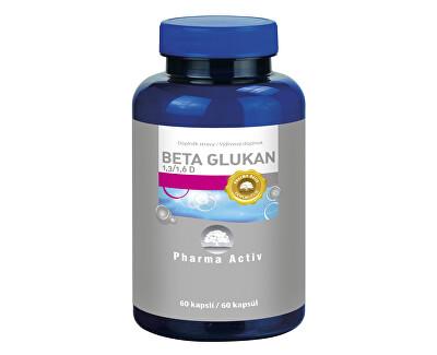 Pharma Activ Beta Glukán 1,3 / 1,6 D, 60 kapslí