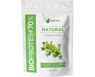 SALUTEM Pharma BioProtein 70% GreenPro Natural 300 g
