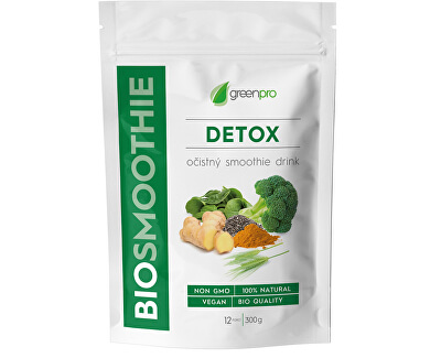 BioSmoothie GreenPro Detox 300 g