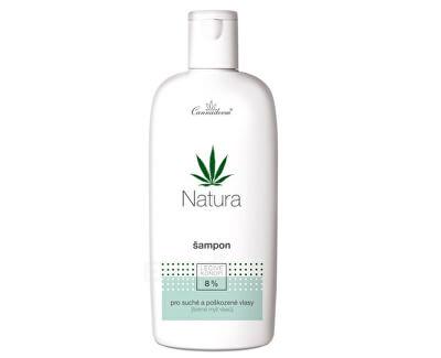 Cannaderm Natu ra šampón na suché poškodené vlasy 200 ml