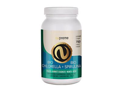 Chlorella + Spirulina 750 tablet BIO
