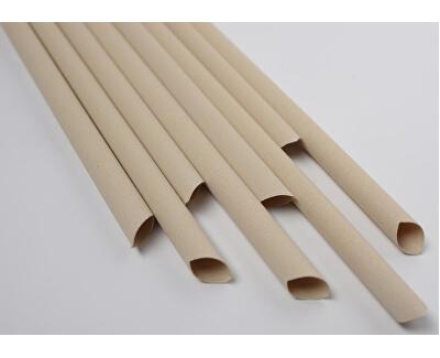 Bambusové brčko 6 mm x 23 mm box 50 ks