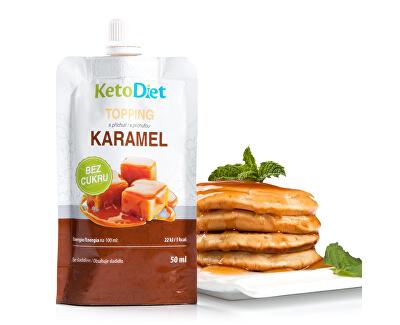 Topping s karamelovou příchutí 50 ml