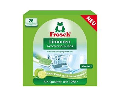 Frosch EKO Tablety do myčky vše v 1 Citrón 26 tablet