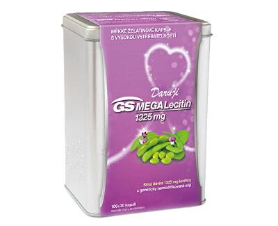 GS Megalecitin 1325, 130 kapslí v plechové krabičce