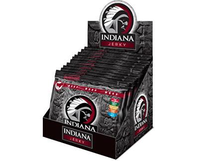 Indiana Jerky beef (hovězí) Hot & Sweet 600 g - display