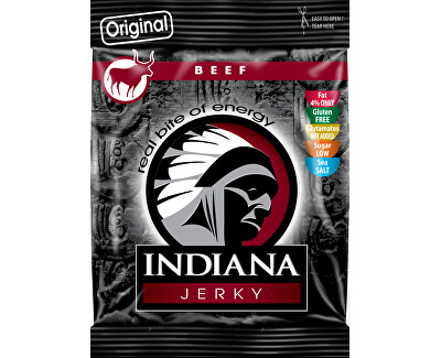 Indiana Jerky beef (hovězí) Original 25 g