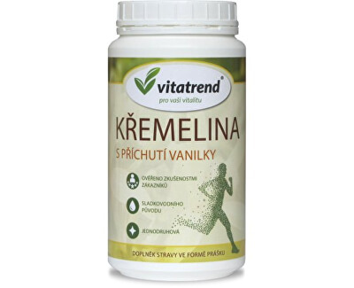 Křemelina Vitatrend 300 g s příchutí vanilky