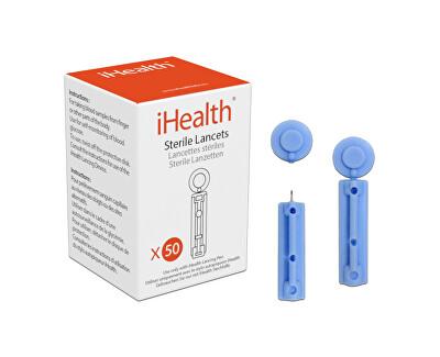 Lancety 30 GI, příslušenství glukometru iHealth BG5, BG1, 50ks