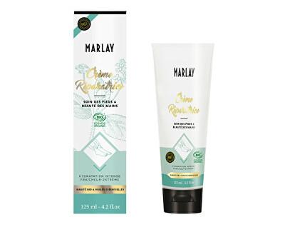 Marlay Cosmetics vyživující a regenerační krém na ruce a nohy 125 ml