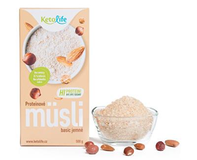 Proteinové müsli - Basic jemné 500 g