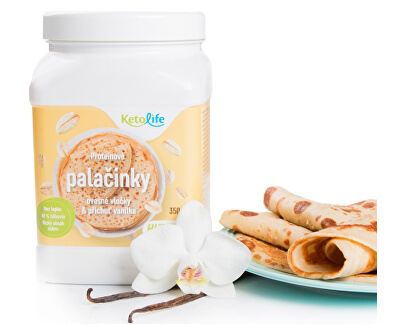 Proteinové palačinky - Ovesné vločky a příchuť vanilka 350 g