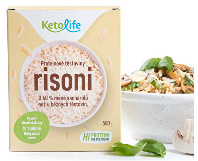 Proteinové těstoviny - Risoni 500 g